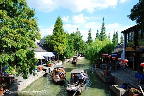 Zhujiajiao: un pueblo sobre el agua en Shanghai