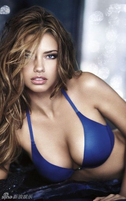 Las tres super modelos sexy Adriana Lima, Candice Swanepoel y Emanuela ...