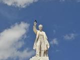 Estatuas de personalidades famosas en la ciudad de La Habana