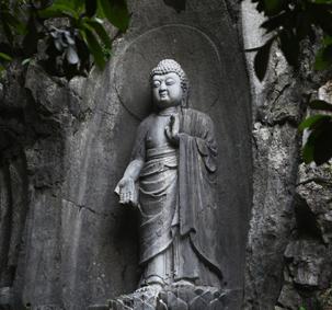 El templo Lingyin, ideal para el retiro del alma