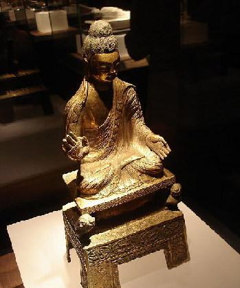 Escultura budista china 1