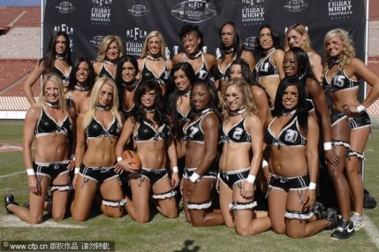Mujeres atractivas jugadores de rugby