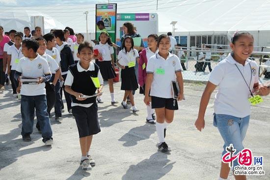 Niños de Cancún: el cambio climático ha cambiado entorno de vida