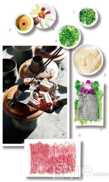 sabor viejo Pekín olla mongola cobre 2