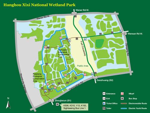 alrededores Parque Humedales Xixi 3