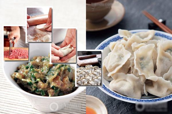 Seis pasos en la preparación de los ravioles