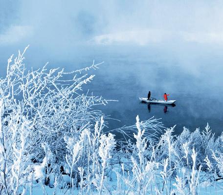 Los Sauces de Nieve de Jilin – Flores de hielo y cuentos de hadas