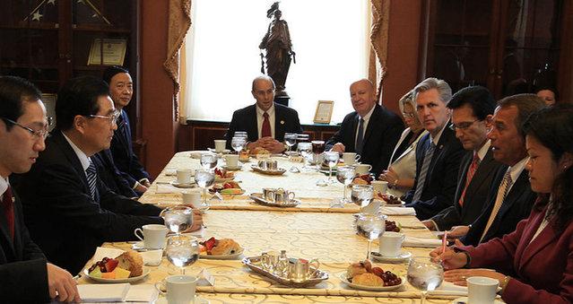 Hu Jintao-visita-EE.UU.-Obama-cooperacíón-beneficio