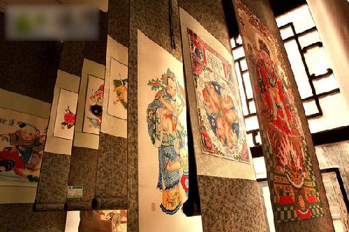 Llévate a casa una pintura del Año Nuevo Chino de Yangliuqing