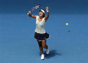 La china Na Li, primera semifinalista