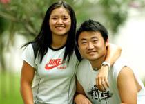 Las fotos de la vida de Li Na y su esposo