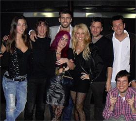 Piqué y Shakira celebraron juntos sus cumpleaños
