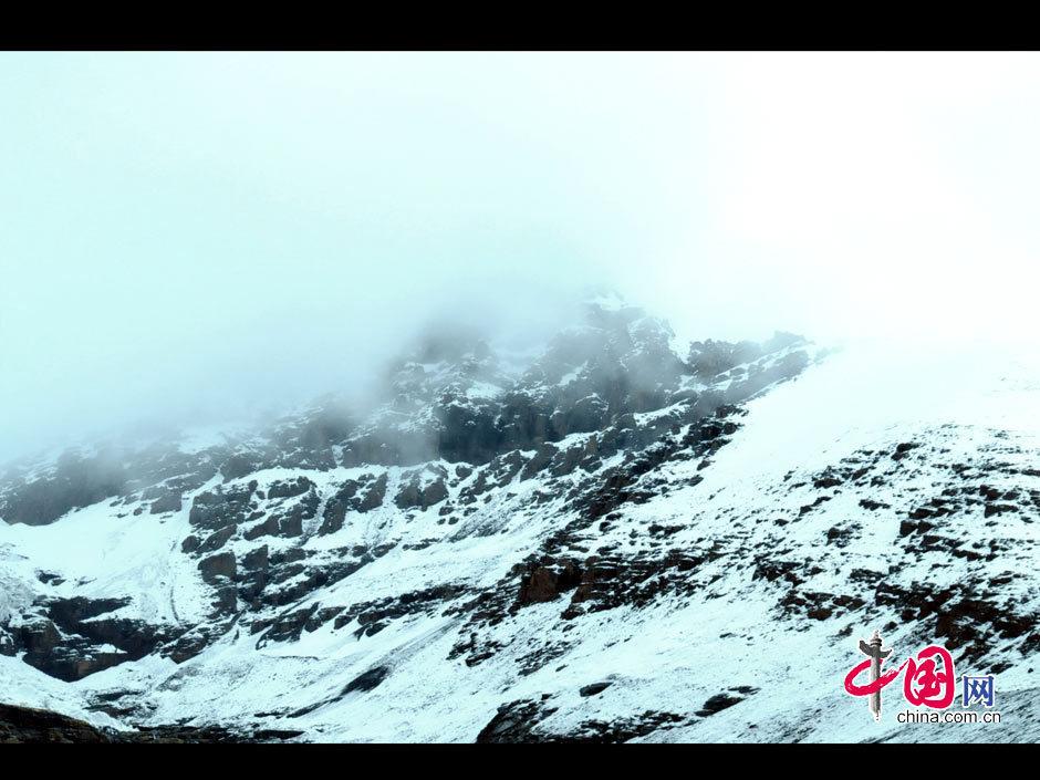 Belleza del Glaciar Karola del Tíbet 1