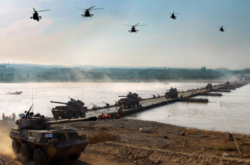 Los 10 mayores ejercicios militares en 2010 9
