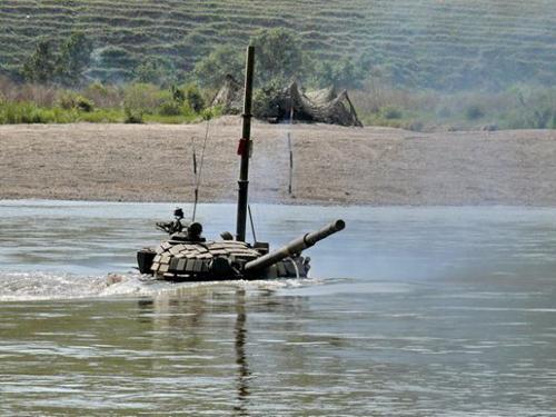 Los 10 mayores ejercicios militares en 2010 3