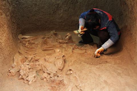 arqueología, Han Wudi, historia, leyenda, Shaanxi, China antigua 1