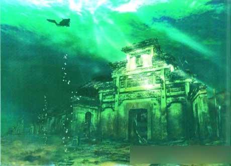 Ciudades milenarias bajo las aguas lago Qiandao 1