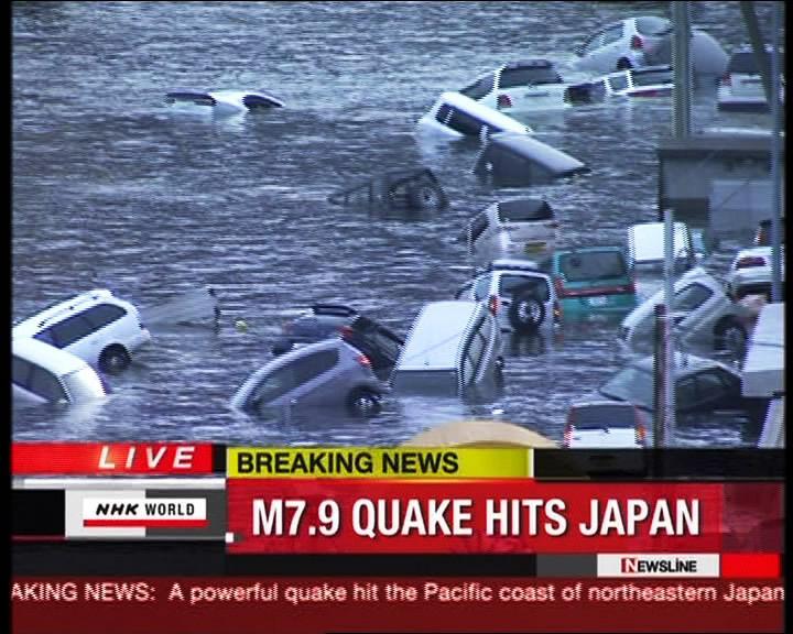 Un gran terremoto sacude Japón y genera un tsunami 1