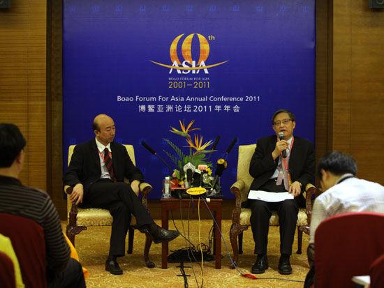 Se celebra la conferencia de prensa del Foro Boao para Asia del Año 2011