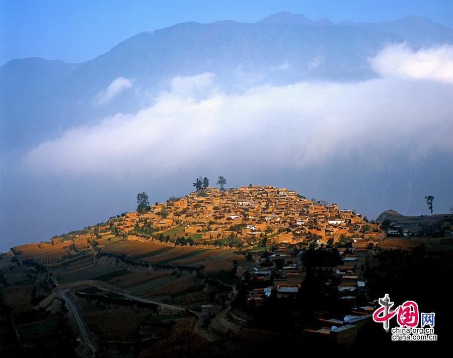 La bella Wenchuan antes de sufrir el terremoto
