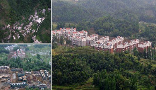 Proyectos de reconstrucción después del terremoto en Sichuan