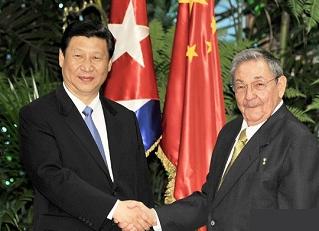 Xi Jinping-Raúl Castro-China-Cuba