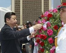 Xi Jinping-José Martí-homenaje