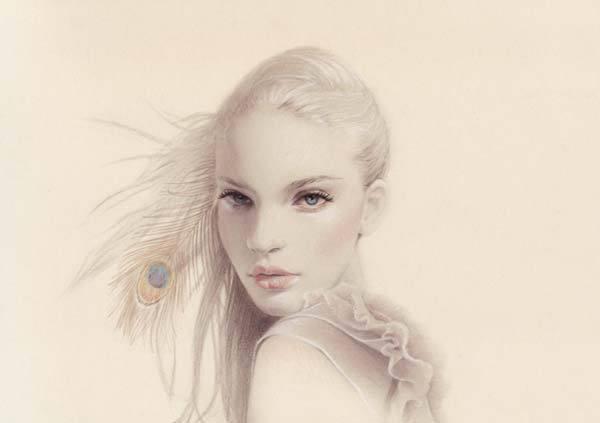 Ilustraciones De Moda Las Mujeres Bellas