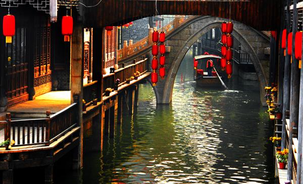 Antigua ciudad Tai´erzhuang_Spanish.china.org.cn_中国最权威的西班牙