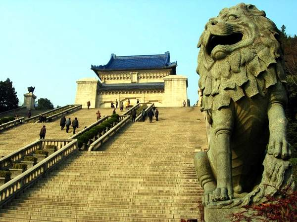 Los lugares históricos de hoy-Nanjing