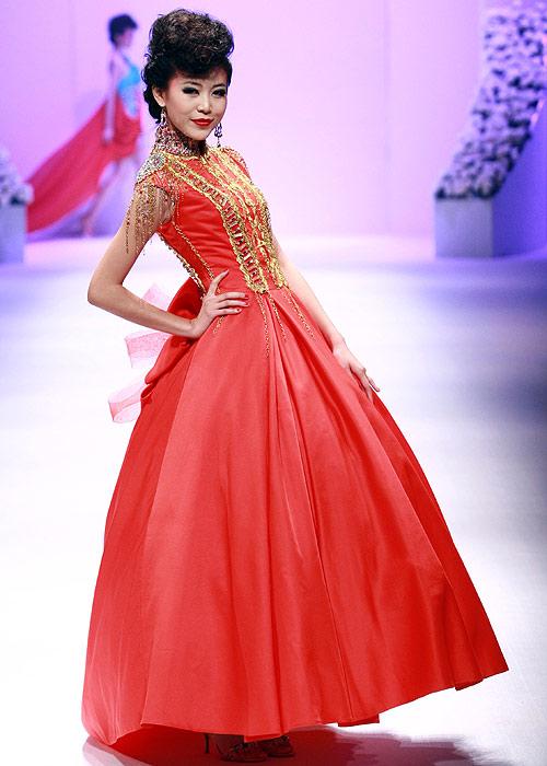 Vestido novia china