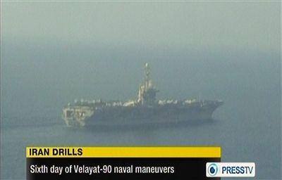 Irán-EEUU-Ormuz-portaviones
