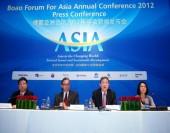 Se inauguró la rueda de prensa de la Coferencia Anual 2012 de Boao