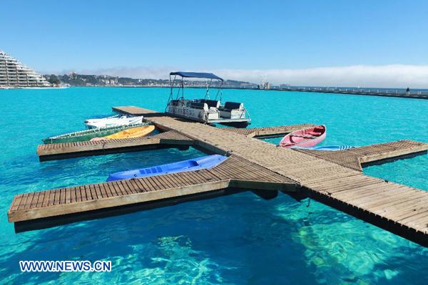 Chile la piscina m s grande del mundo for Piscina mas grande del mundo chile