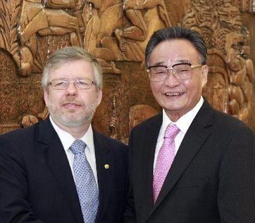 Máximo legislador de China pide fortalecer relaciones parlamentarias con Brasil