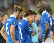Lágrimas amargas de la selección italiana