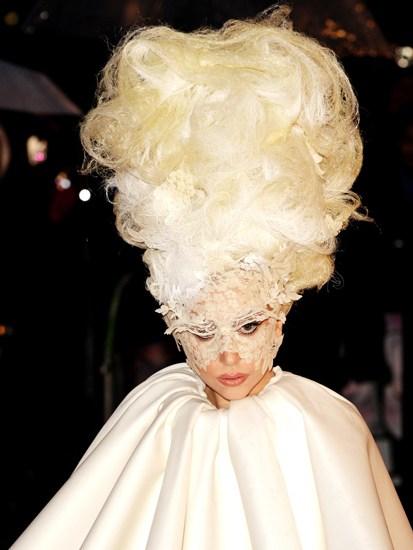 Peinados más extraños y locos de Lady Gaga_Spanish.china ... Lady Gaga