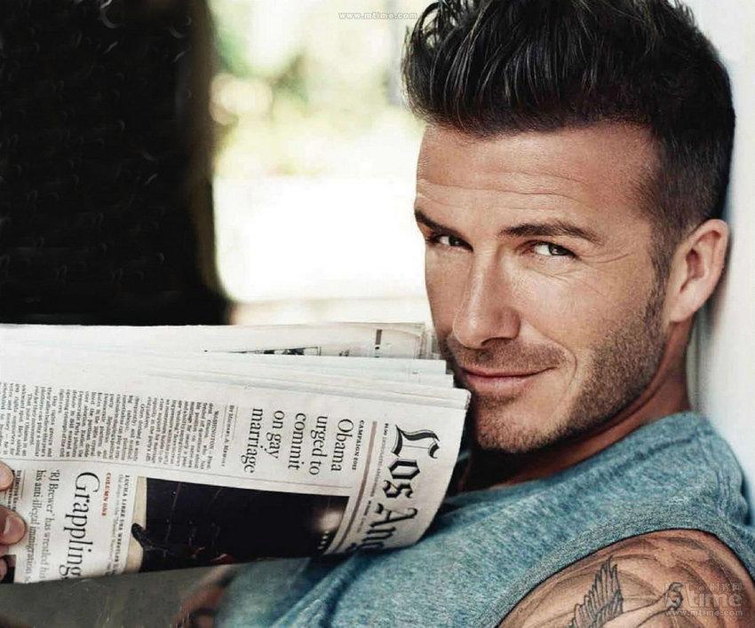 Diez hombres más sensuales, según The Mirror--David Beckham