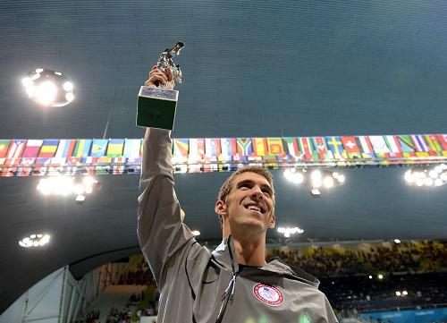 Phelps, el mejor nadador de la historia, dice adiós