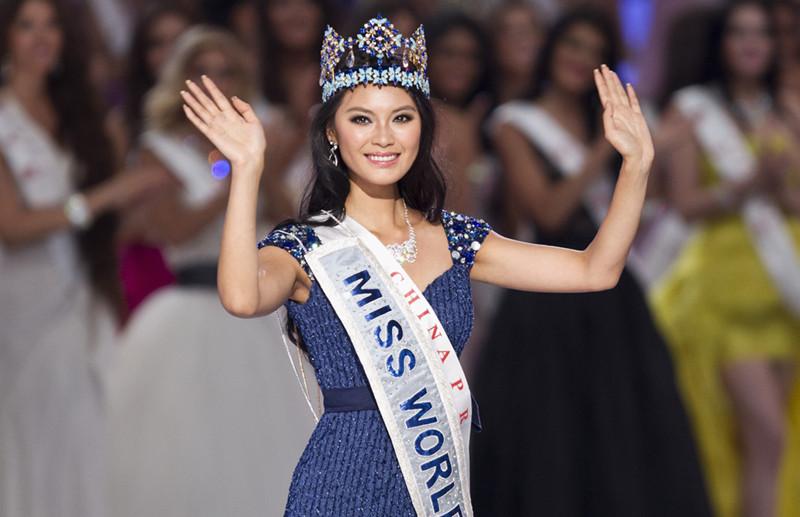 La china Yu Wenxia es coronada Miss Mundo 2012