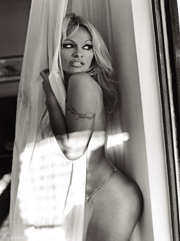 Pamela Anderson, el último desnudo de Playboy