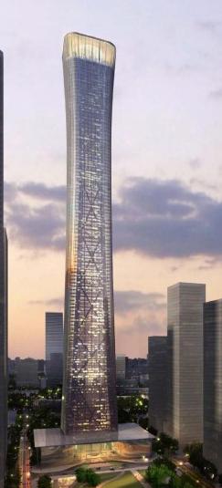 Edificio China Zun: el rascacielos más alto que se construirá en el área CBD de Beijing 3