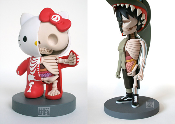 Anatomía fictícia de Barbie y Hello Kitty, ¡bonitos o horribles!_ ...