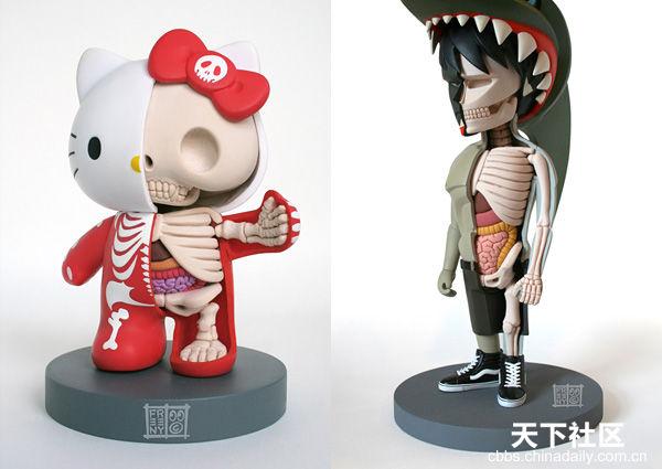 Artista ´devela´ la anatomia de los juguetes_Spanish.china.org.cn_ ...