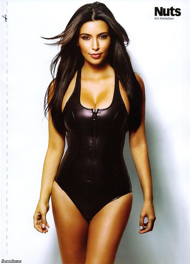Kim Kardashian, mujer más sexy de Hollywood_Spanish.china.org.cn ... Kim Kardashian