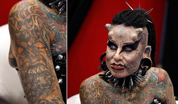 Los Tatuajes Mas Increibles Spanish China Org Cn 中国最权威的西班牙