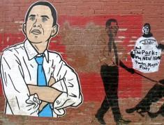 El grafiti de Obama por las calles de Washington
