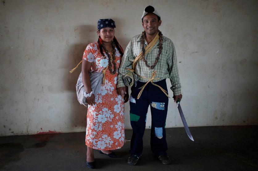 El 6 de octubre, Solerica Dumay (izquierda) y Ubano Layoner se participaron en