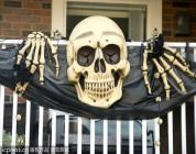 La casa embrujada horrible de Halloween