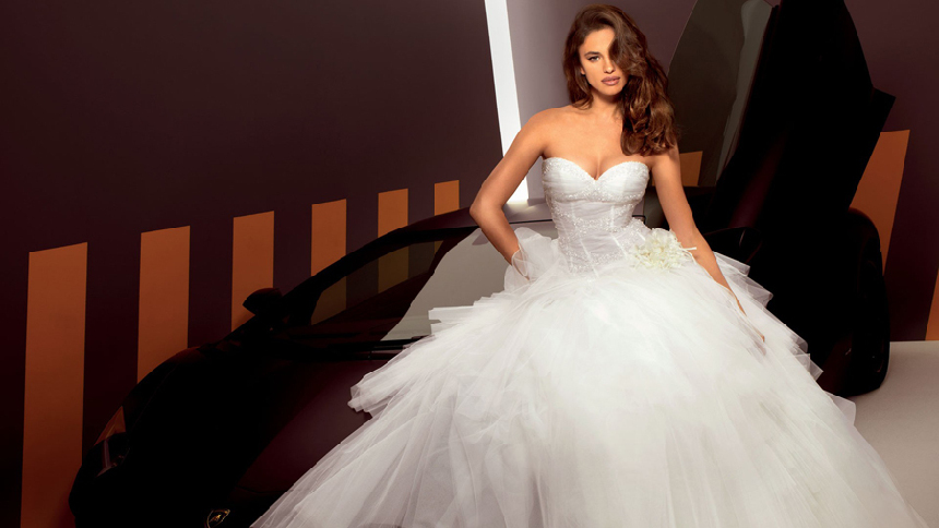 Vestidos de novia irina shayk